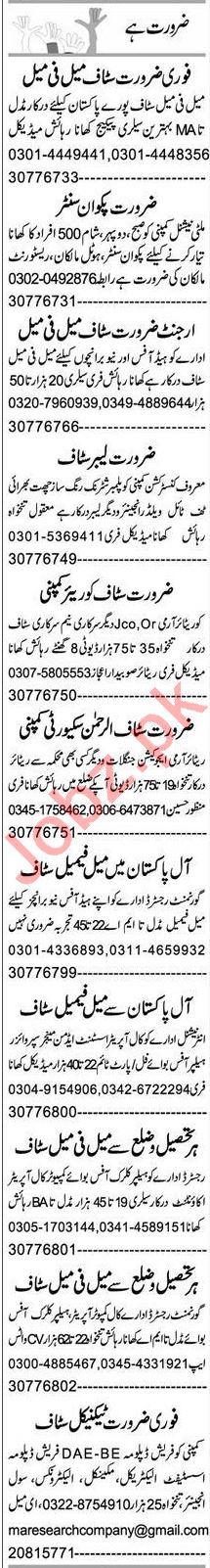 Hardware Technician & Web Developer Jobs 2021 in Peshawar