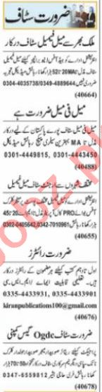 Customer Relationship Officer & HR Officer Jobs 2021 Lahore