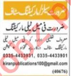 Sales Executive & District Sales Manager Jobs 2021 in Lahore