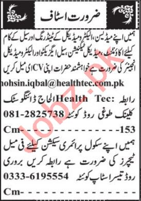 Promotion Officer & Accountant Jobs 2021 in Quetta