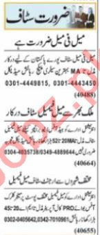 Executive Manager & Account Manager Jobs 2021 in Lahore