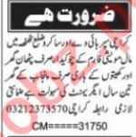 Watchman & Chowkidar Jobs 2021 in Karachi