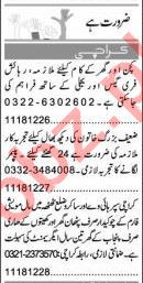 Watchman & Caretaker Jobs 2021 in Karachi