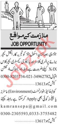 Marketing Manager & Coordinator Jobs 2021 in Karachi