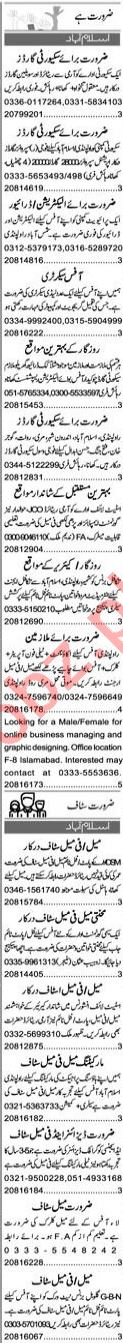 Finance Manager & Merchandiser Jobs 2021 in Islamabad