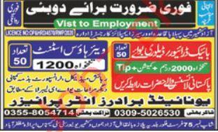 Bike Driver & Delivery Boy Jobs 2021 in Dubai