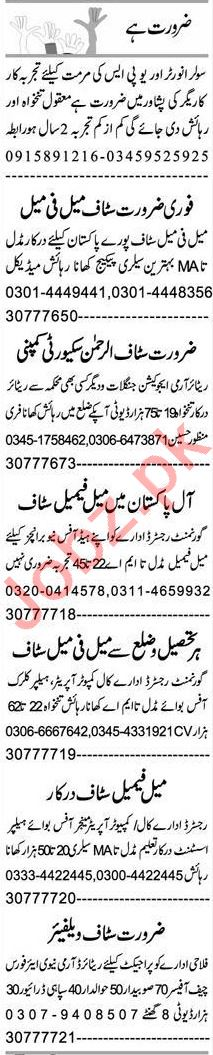 PHP Developer & Hardware Technician Jobs 2021 in Peshawar