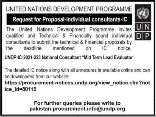 United Nations Development Program UNDP Jobs 2021