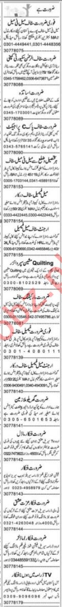 Admin Manager & Client Relation Officer Jobs 2021 in Lahore