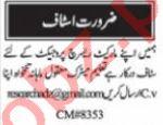 Nawaiwaqt Sunday Classified Ads 4 July 2021 for Admin Staff