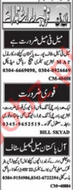 Graphic Designer & Web Developer Jobs 2021 in Islamabad