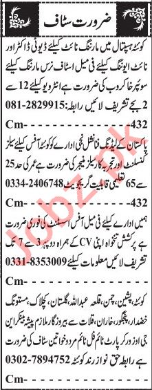 Jang Sunday Classified Ads 11 July 2021 for Management Staff