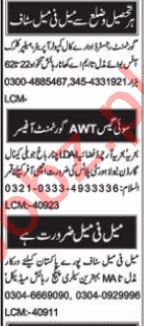 Data Entry Operator & Admin Officer Jobs 2021 in Islamabad