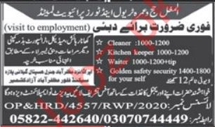 Kitchen Helper & Cleaner Jobs 2021 in Dubai
