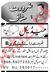 Pharmacist & Lady Doctor Jobs 2021 in Peshawar