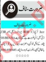 Promotion Officer & Civil Supervisor Jobs 2021 in Peshawar