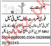 Accounts Officer & Executive Manager Jobs 2021 in Lahore