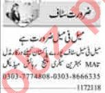 Telephone Operator & Admin Officer Jobs 2021 in Islamabad