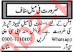 Assistant Manager & Computer Operator Jobs 2021 in Multan