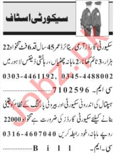 Security Coordinator & Security Executive Jobs 2021 Lahore