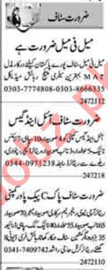 Branch Manager & Sales Manager Jobs 2021 in Lahore