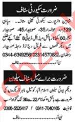 Computer Operator & Security Guard Jobs 2021 in Islamabad