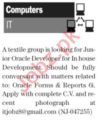 The News Sunday Classified Ads 25 July 2021 Computer Staff