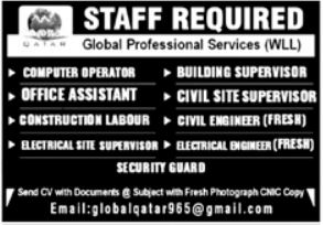 Computer Operator Officer Assistant Jobs in Lahore