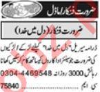 Khabrain Sunday Classified Ads 25 July 2021 for Showbiz