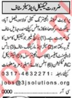 Khabrain Sunday Classified Ads 25 July 2021 for Technical