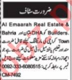 Real Estate Manager & Sales Coordinator Jobs 2021 in Multan