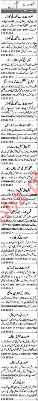 Promotion Officer & Admin Manager Jobs 2021 in Islamabad