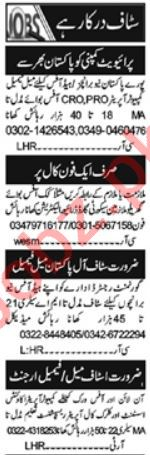 Computer Operator & Assistant Manager Jobs 2021 in Islamabad
