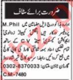 Male & Female Teaching Staff Jobs 2021 in Multan