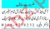 Administrator & Assistant Supervisor Jobs 2021 in Peshawar