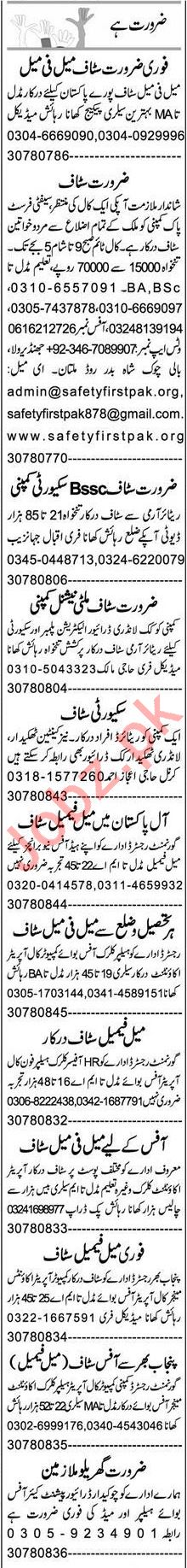 Promotion Officer & Accountant Jobs 2021 in Multan