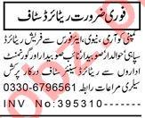Security Manager & Security Coordinator Jobs 2021 Peshawar