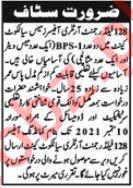 128 Field Regiment Artillery Officers Mess Sialkot Jobs 2021