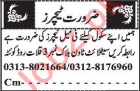 Teacher & Science Teacher Jobs 2021 in Quetta