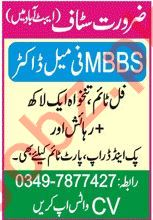 MBBS Female Doctor & Lady Doctor Jobs 2021 in Abbottabad