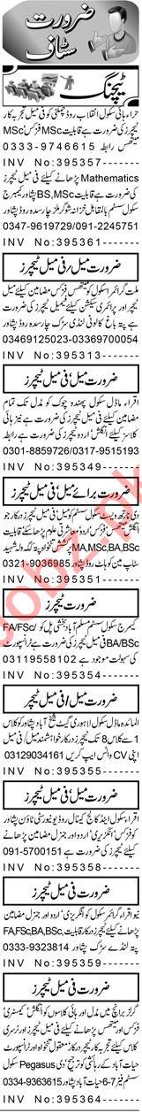 Vice Principal & Teacher Jobs 2021 in Peshawar