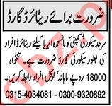 Security Guard & Security Manager Jobs 2021 in Abbottabad