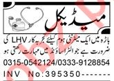 Lady Health Visitor & Resident Medical Officer Jobs 2021