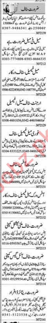 Quantity Surveyor & Lab Assistant Jobs 2021 in Lahore