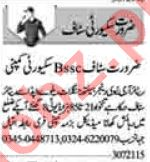 Lady Security Guard & Security Manager Jobs 2021 in Lahore