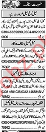 Purchase Assistant & Accountant Jobs 2021 in Lahore