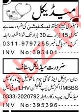 Health Technician & Lady Doctor Jobs 2021 in Peshawar