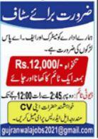 Office Workers Jobs 2021 In Gujranwala