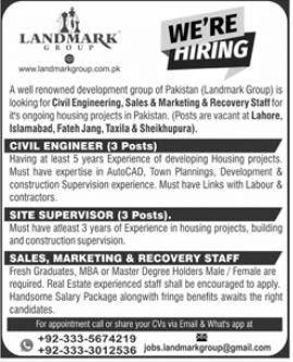 Landmark Group Jobs 2021 For Management Staff