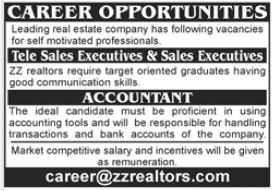 Real Estate Company Jobs 2021 In Lahore